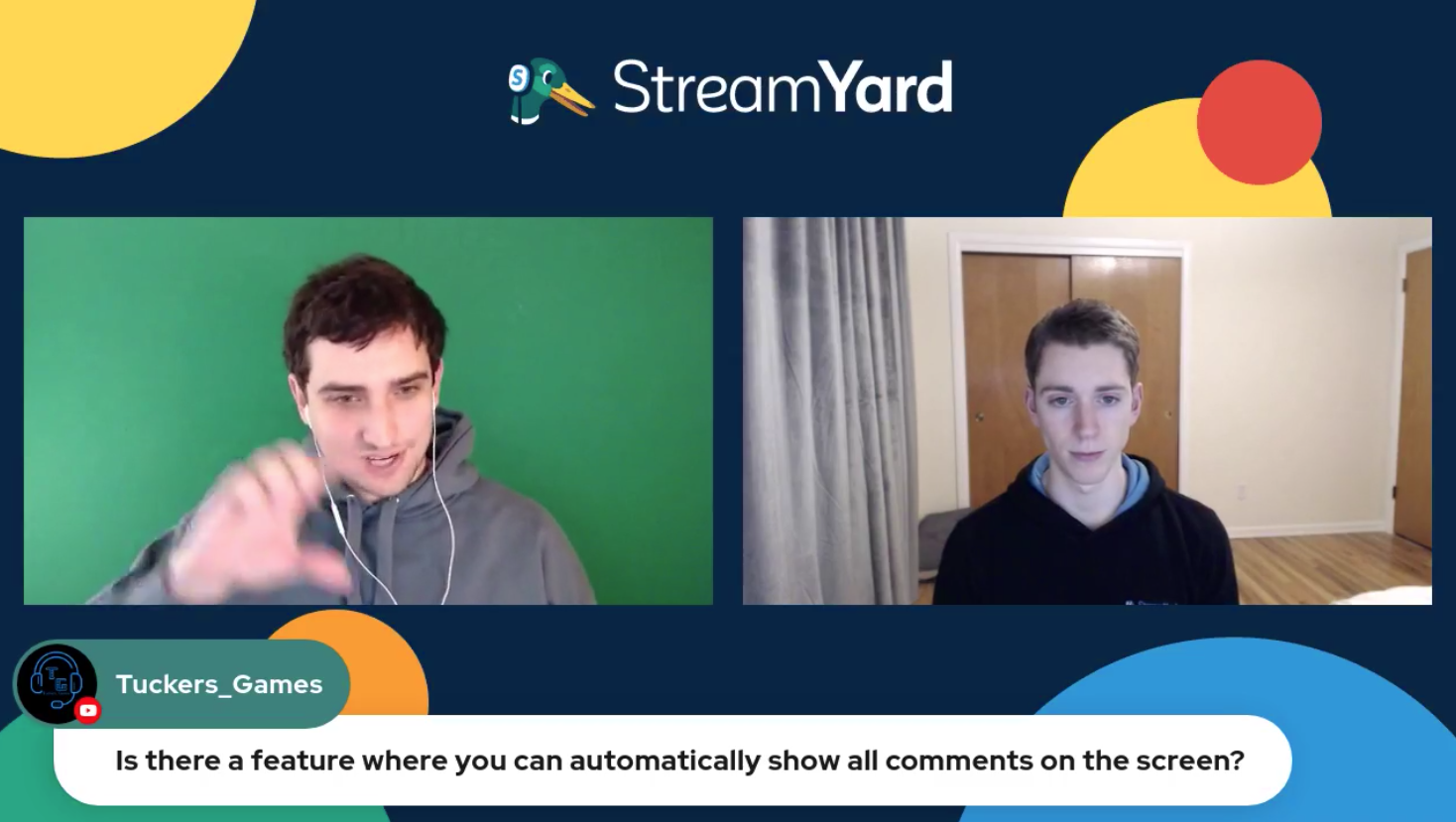 3 - ALL Comments On Screen Streamyard Town Hall Episode 113