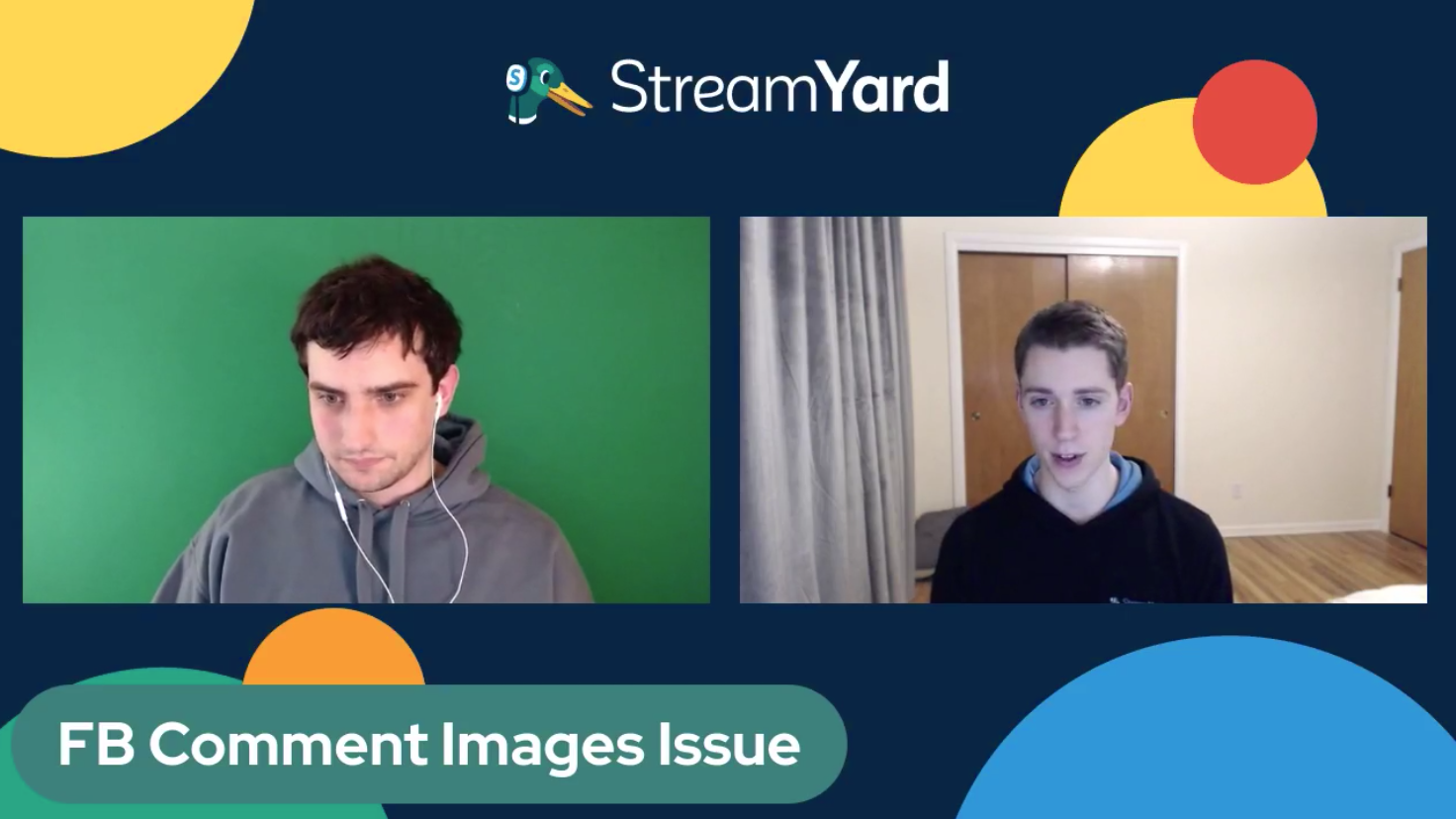 Facebook Comment Issue Fixed Streamyard Town Hall Episode 113